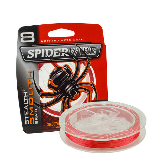 Trecciato Spiderwire STEALTH SMOOT BRAID D0,12 300MT (24LB/10.7kg)