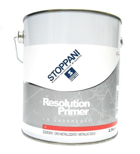 Resolution Primer STOPPANI S28060 Oro Metallizzato - 2.5L