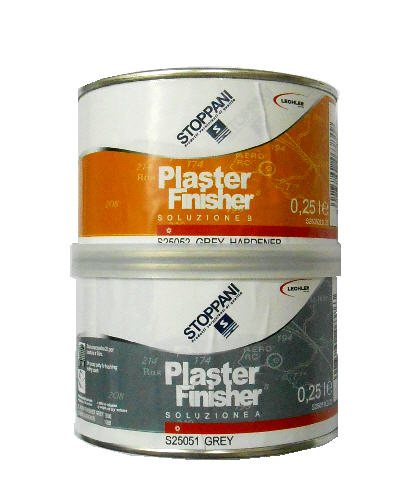 Stucco Bicomponente STOPPANI Plaster Finisher S25054 - Grigio Scuro/Grigio 250ML
