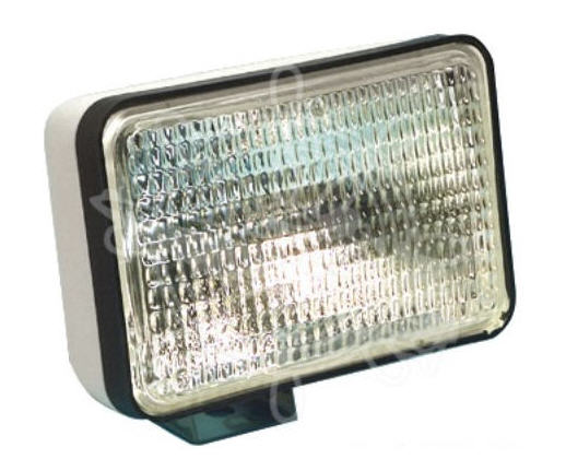 Faro SEALED BEAM impermeabile Alogeno Stagno con Staffa 55W 12V 152mm