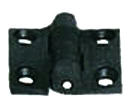 Cerniera NERA in Nylon Rinforzato 38x38 mm