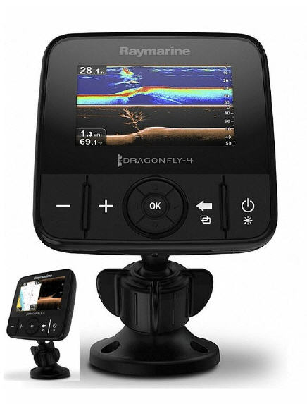 GPS-ECO RAYMARINE Dragonfly 4 PRO Chirp + Wi-Fi + C-Map + TRASDUTTORE