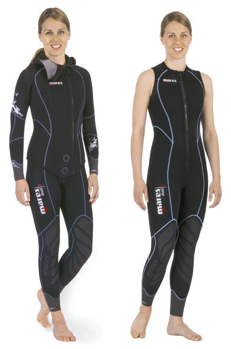 Muta Donna Bipezzo 5mm Mares DUAL SHE DIVES Tg. 3