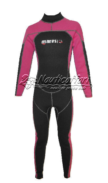 Monopezzo Donna 2,2 mm STEAMER MIRA REAR ZIP Tg. 1