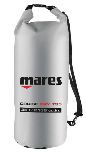 Borsa Sacca Stagna Mares CRUISE DRY T35 SILVER 35 LT