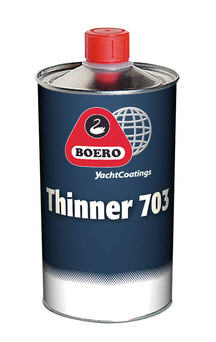 Diluente BOERO THINNER 703 per Vernice Antivegetativa - 500ML