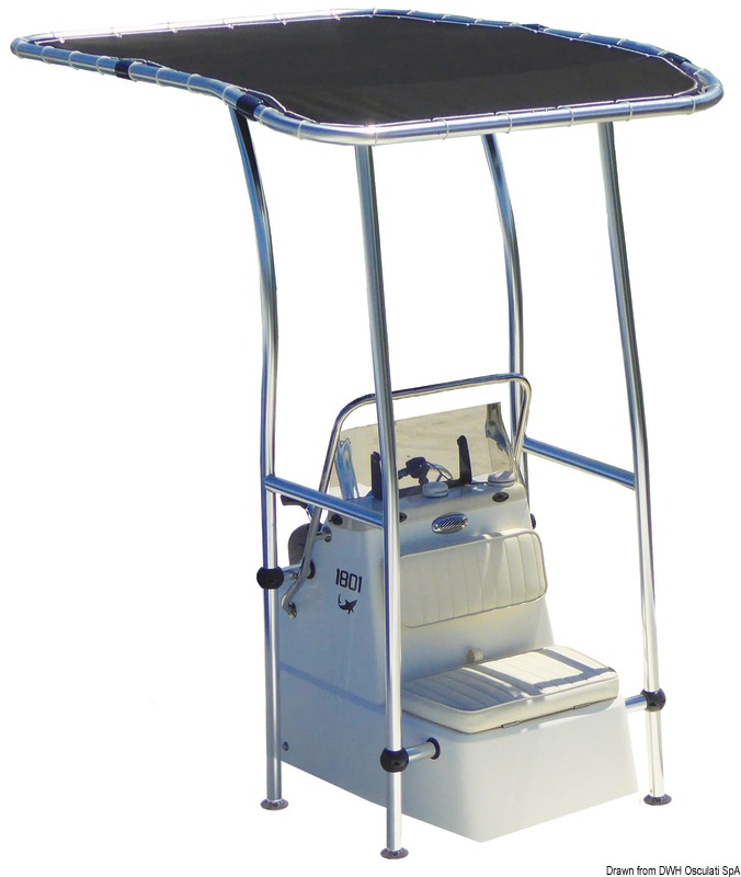 T-Top in alluminio 2,00X1,40mt Professionale