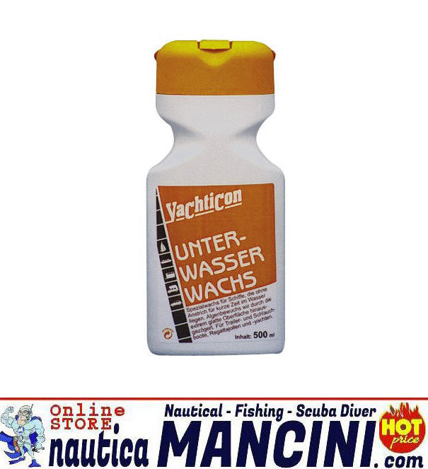 Pulitore per carene YACHTICON Under-Water Wax 500 ml