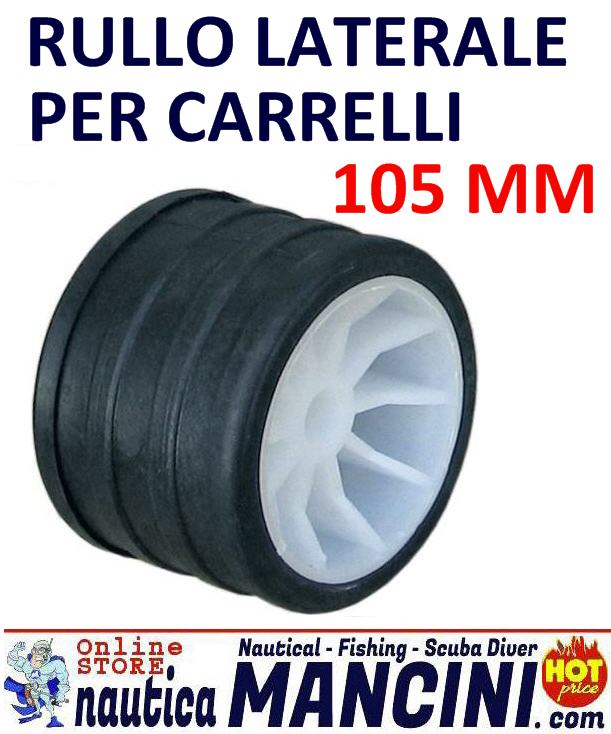 Rullo Laterale Ø 105 mm 76 mm foro 14,5 mm