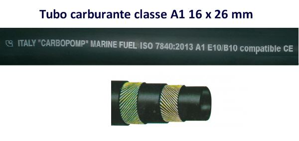 Tubo Carburante liscio 16x26 mm