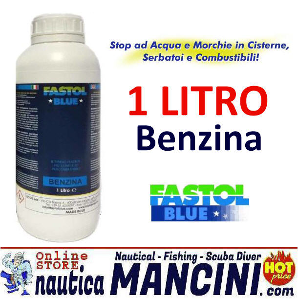 Additivo FASTOL per Carburante Benzina 1 Lt