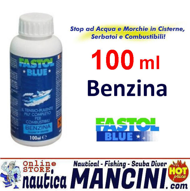 Additivo FASTOL per Carburante Benzina 100 ml