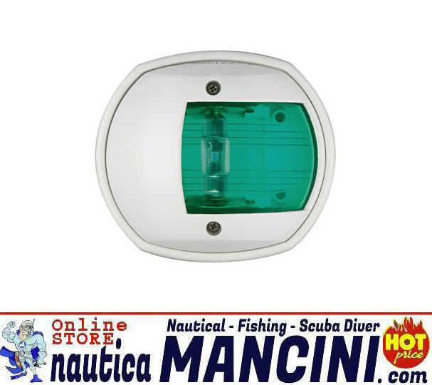 Fanale di via 12 mt COMPACT LED in ABS Bianco 112.5° VERDE