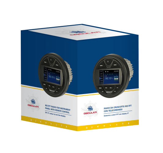 Radio FM/Bluetooth/DAB/USB/Mp3 per uso nautico 4x40w