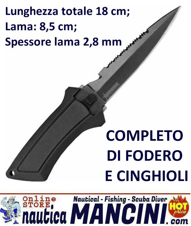 Coltello Sub BARRACUDA 8,5 cm