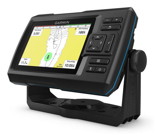 "ECO-GPS integrato GARMIN STRIKER 5CV PLUS Fishfinder 5"" con TRASDUTTORE CHIRP e ClearVü"